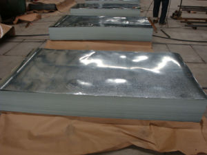 Dx51d Galvanized Steel Plate pictures & photos