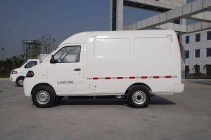 Electric Cargo Van with Single Cab pictures & photos