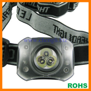 Chengli Night Vision 3 White LED + 4 Red LED Headlight with 3PCS AAA Size Battery (LA244)