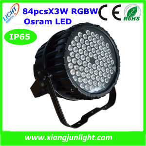 New 84X3w RGBW/RGB LED State PAR Can Light pictures & photos