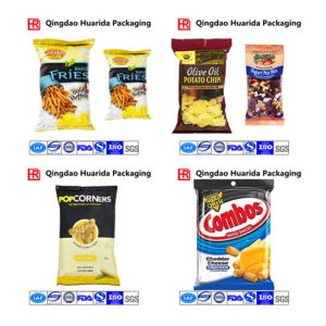Custom Design Plastic Back Seal Potato Chips Packaging Bag/Film pictures & photos