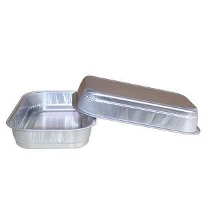Golden/Silver Color Aluminium Foil Container for Wet Pet-Food pictures & photos