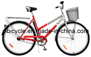 26 Inch Hot Sale High Quality Single Speed City Bike (ZL060531) pictures & photos