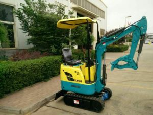 0.8t, 1.5t Yanmar Engine Mini Excavator Digger for Sale pictures & photos