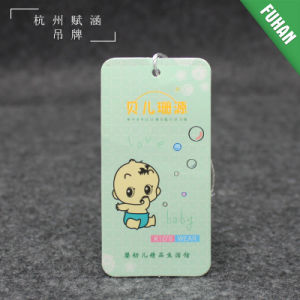 China Factory Customized Paper Hang Tag Wholesale for Clothing pictures & photos
