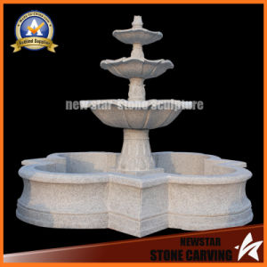 Water Feature Gray Granite Fountain for Garden Decoration pictures & photos