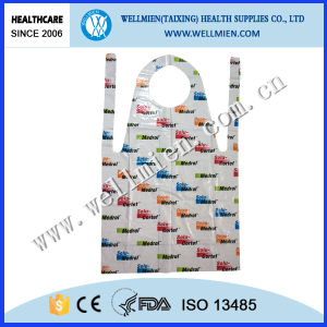 Disposable PE Apron with Logo Printing as Promotional Gift pictures & photos