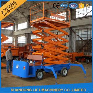 Adjustable Electric Scaffold Platforms / Hydraulic Work Platform Elevator pictures & photos