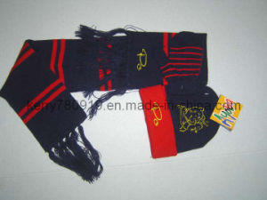 Promotional Competitive Knitted Beanie/Winter/Knitted Set (YZDH-G164) pictures & photos