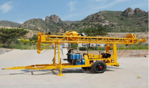 Best Seller Gl-I Trailer Mounted Drilling Rig pictures & photos