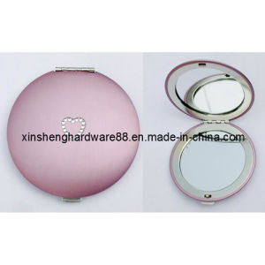 Metal Compact Pocket Mirror Custom Logo (XS-M0099) pictures & photos