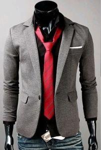 Men′s Formal Slim Fit One Button Suit Ll-M02 pictures & photos