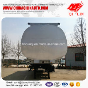 35000 Liters Benzene Tank Semi Trailer with 4 Inches Manhole Cover pictures & photos