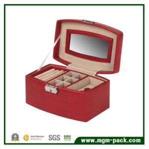Promotional High Quality Multifunction Leather Jewelry Box pictures & photos
