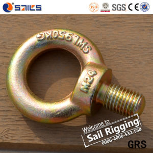 JIS 1168 Forged Carbon Steel Galvanized Eye Bolt pictures & photos