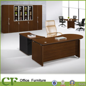 Wooden Frame Curved Desktop Executive Desk pictures & photos