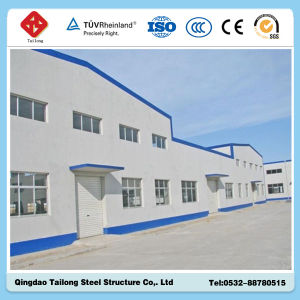 Green Construction Eco Friendly Structural Steel Frame Warehouse Construction pictures & photos
