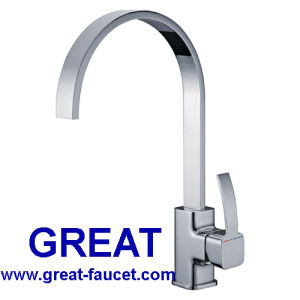 High Quality Square Sink Faucet pictures & photos