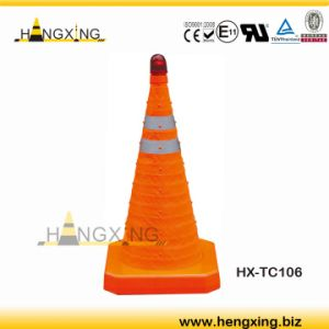 Hx-Tc106 Retractable Traffic Cone with LED Light