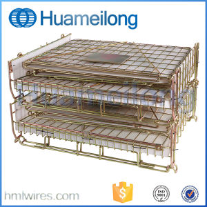 Industrial Steel Pet Preform Wire Mesh Container for Storage pictures & photos