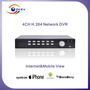 H 246 Wireless DVR Player CCTV Net Video DVR (ZK-6004F-4K)