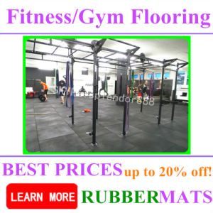 Colorful Commercial Rubber Waterproof Tile Flooring Mat pictures & photos