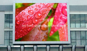 P10 Outdoor Full Color LED Display EMC Certificated pictures & photos