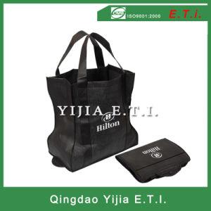 Snap Non Woven Folding Grocery Bag pictures & photos