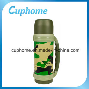 Military Stainless Steel Outdoor 1200ml Vacuum Water Bottle Flask
