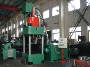 Briquetters Automatic Aluminum Iron Metal Scrap Hydraulic Briquette Recycling Machine-- (SBJ-360) pictures & photos