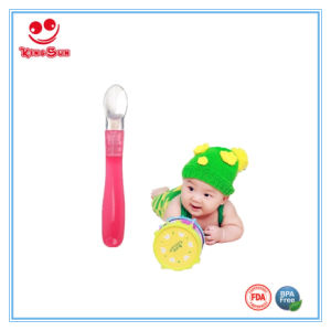 Newborn Soft Silicone Spoon for Baby pictures & photos