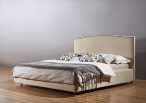 Cheap Fabric Bedroom Bed, Simple Bed (A10) pictures & photos