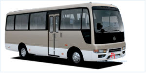 Best Selling Toyota Coaster Type Changan Bus Sc6608bl pictures & photos