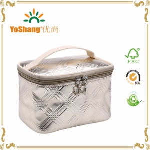 2016 Custom PU Zipper Pouch Wholesale Travel Fashion PU Cosmetic Bag pictures & photos