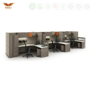 Modern Office Furniture Partition Workstation for 2 Person (HY-C9) pictures & photos