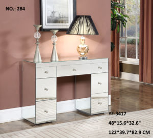 Modern Style 7 Drawers Desk Living Room Furniture pictures & photos