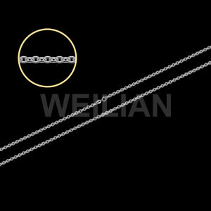 Silver Jewelry Chain, Silver Cable Chain pictures & photos