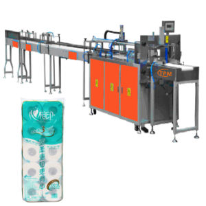 Semi Automatic Toilet Paper Tissue Packing Machine pictures & photos