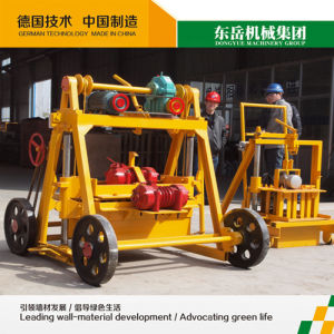 Small Moving Brick Making Machine (QT40-3B) pictures & photos
