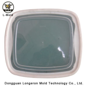 Punch Standard PP Lunch Box Plastic Injection Mould pictures & photos
