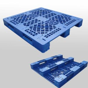 L1200*W1000*H160mm HDPE/PP Heavy Duty 3 Runners Open Deck Hygeian Plastic Pallet pictures & photos