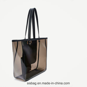 Promotion Transparent Color Shopping Bag Clearly PVC Beach Bags pictures & photos
