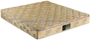 Durable Jacquard Fabric Latex Single Pillwo Top Mattress (WL127)