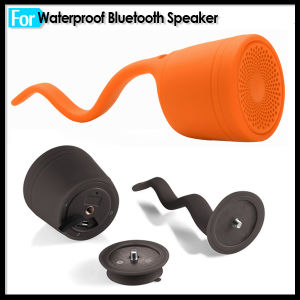 2 in 1 Ipx7 Waterproof Tadpole Silicone Bluetooth Handsfree Speaker pictures & photos