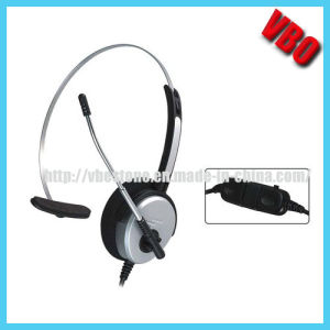 Fashionable Call Center Headphone with Noise Cancelling Microphone pictures & photos