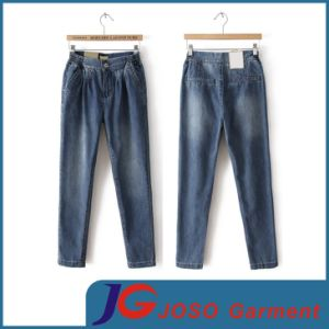 Women Pencil Stretch Casual Denim Skinny Jeans (JC1322) pictures & photos