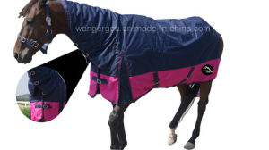 900d Poly Water-Proof and Breathable Turnout Combo/Horse Rug (CB-N5) pictures & photos
