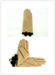 Lady Fashion Wool Gloves (JYG-25043) pictures & photos