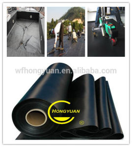 EPDM Pond Liner / 1mm Rubber Sheet Rolls/ Waterproofing Membranes/ Waterproof Material/ Cheap Building Materials pictures & photos