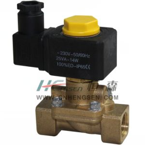"M 2 3 D 1 3 Solenoid Valve 1/2"" B S P /Normally Closed Solenoid Valve/Servo-Assisted Diaphragm Solenoind Valve/Water, Air, Oil Solenoid Valve pictures & photos"